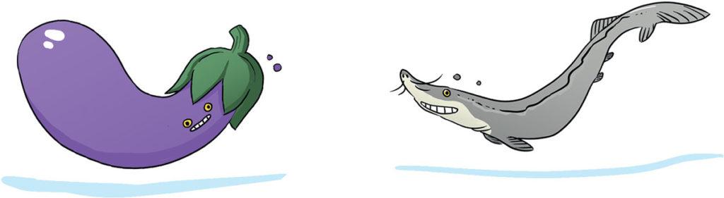 caviar aubergine titre